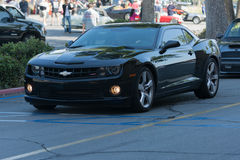 Chevrolet Camaro car on display. Woodland Hills, CA, USA - June 7, 2015: Chevrolet Camaro car on display at the Supercar Sunday car event Royalty Free Stock Image