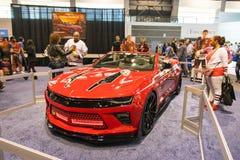 Chevrolet Camaro chicago blackhawks wydanie Zdjęcia Stock