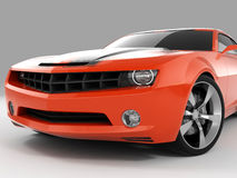 Chevrolet Camaro Concept 2009 Stock Photos
