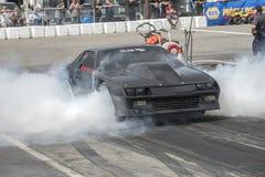 Chevrolet camaro dymu przedstawienie Obrazy Royalty Free