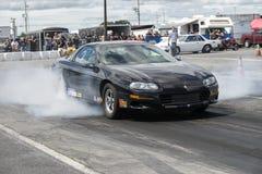 Chevrolet camaro dymu przedstawienie Zdjęcie Stock