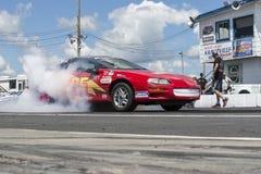Chevrolet camaro dymu przedstawienie Obrazy Stock