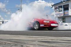 Chevrolet camaro dymu przedstawienie Zdjęcia Stock