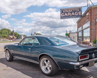1967 Chevrolet Camaro, garage de Vinsetta, croisière de rêve de Woodward, M Image libre de droits
