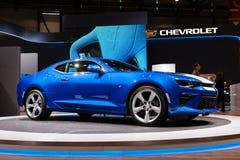 Chevrolet Camaro in Genève Royalty-vrije Stock Afbeelding