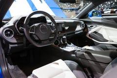 Chevrolet Camaro in Genève Stock Foto
