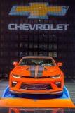 2018 Chevrolet Camaro Gorący koła 50th Rocznicowy wydanie, jezierze Obraz Stock