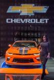 2018 Chevrolet Camaro Gorący koła 50th Rocznicowy wydanie, jezierze Obraz Royalty Free