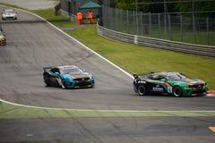 Chevrolet Camaro GT4 car racing at Monza Royalty Free Stock Images