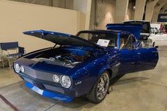 Chevrolet Camaro LS2 op vertoning Royalty-vrije Stock Foto's