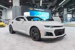Chevrolet Camaro na pokazie Zdjęcie Stock