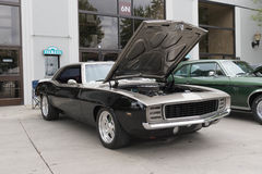 Chevrolet Camaro na pokazie Zdjęcia Stock