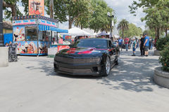 Chevrolet Camaro na pokazie Obraz Royalty Free
