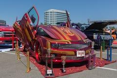 Chevrolet Camaro na pokazie podczas NAZYWA przedstawienie wycieczkę turysyczną Zdjęcia Stock