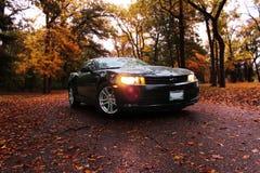 Chevrolet Camaro noir 2014 images stock