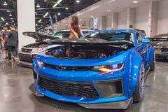 Chevrolet Camaro op vertoning Stock Foto