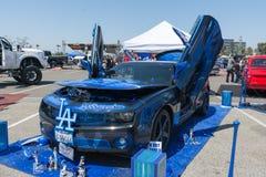 Chevrolet Camaro op vertoning tijdens DUB Show Tour Royalty-vrije Stock Foto