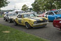 Chevrolet camaro race car Royalty Free Stock Image