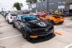 Chevrolet Camaro race car Stock Photography