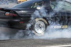 Chevrolet camaro smoke show Stock Image