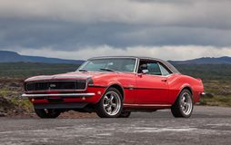 Chevrolet Camaro 1968 solides solubles Photographie stock libre de droits