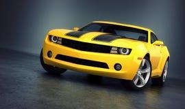 Chevrolet Camaro sportów samochód royalty ilustracja