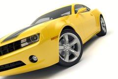 Chevrolet Camaro sports car. On white background Royalty Free Stock Image