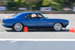 Chevrolet Camaro SS in autocross Stock Images