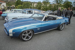 1969 Chevrolet Camaro SS 396 convertible Royalty Free Stock Photos