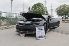 Chevrolet Camaro SS 1 le op vertoning Stock Afbeelding