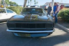 Chevrolet Camaro SS na exposição Imagens de Stock Royalty Free