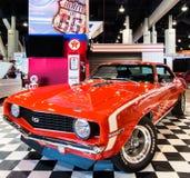 Chevrolet Camaro SS, Wysyła 66 temat przy SEMA Obrazy Stock