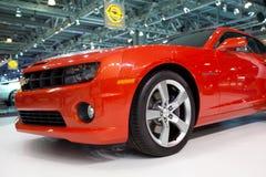 Chevrolet Camaro su MIAS fotografie stock libere da diritti