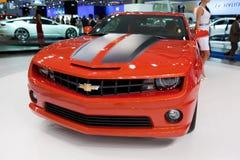 Chevrolet Camaro su MIAS fotografia stock libera da diritti