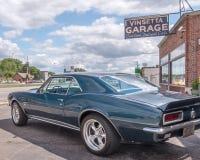 1967 Chevrolet Camaro, Vinsetta-Garage, Woodward-Droomcruise, M Royalty-vrije Stock Afbeelding