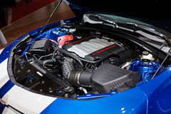 Chevrolet Camaro w Genewa Zdjęcia Stock