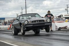 Chevrolet camaro wheelie Obraz Stock