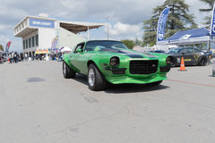 Chevrolet Camaro Z28 na pokazie Fotografia Royalty Free