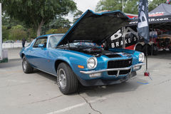 Chevrolet Camaro Z28 op vertoning Royalty-vrije Stock Foto's