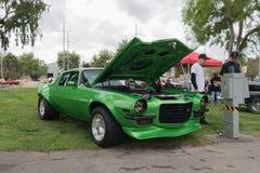 Chevrolet Camaro Z28 op vertoning Royalty-vrije Stock Foto