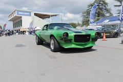Chevrolet Camaro Z28 op vertoning Royalty-vrije Stock Fotografie