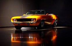 Chevrolet- Camarokabriolett 1969 stockfotos