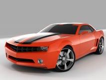 Chevrolet- Camarokonzept 2009 Lizenzfreie Stockfotografie