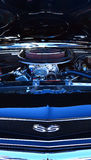 Chevrolet Camero SS engine in a Public US classic muscle car sho Stock Photos