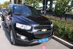 Chevrolet Captiva imagens de stock