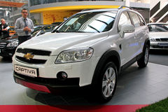 Chevrolet Captiva Royalty Free Stock Images