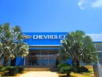 Chevrolet dealer logo Stock Photography