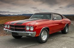 Chevrolet 1970 Chevelle Photographie stock