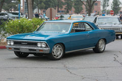 Chevrolet Chevelle car on display. Woodland Hills, CA, USA - July 5, 2015: Chevrolet Chevelle car on display at the Supercar Sunday car event Stock Images