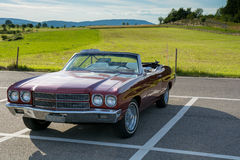 Chevrolet Chevelle covertible lizenzfreies stockbild